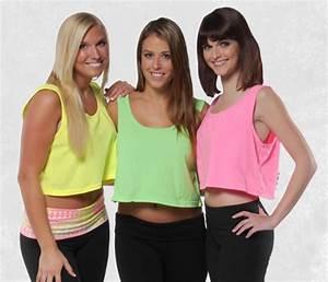 Wholesale direct neon crop tank tops in women s sizes