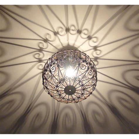 lampe orientale lustre lampe marocain en fer forge cm