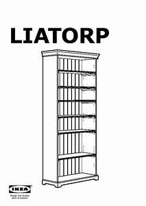Bibliothèque Vitrée Ikea : liatorp biblioth que vitr e ikea france ikeapedia ~ Teatrodelosmanantiales.com Idées de Décoration