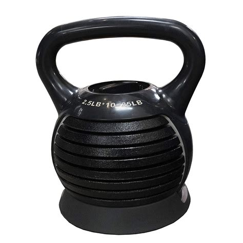 kettlebell adjustable cast iron weight body workout training use weights strength fitness gear walmart portable dazone 25lbs kettlebells equipment exercise