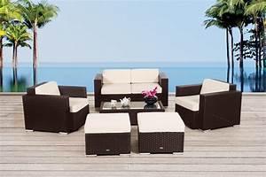 Rattan Gartenmöbel Lounge : gartenm bel gartenmobiliar gartentische gartenst hle gartenliege lounge alcala braun ~ Frokenaadalensverden.com Haus und Dekorationen