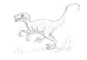 Dinosaur Sketches Drawings