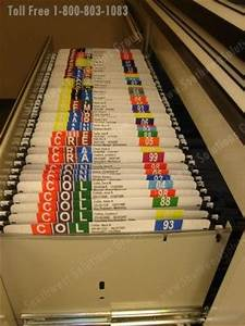 automated file labeling printing color coded folder With alphabet labels for files