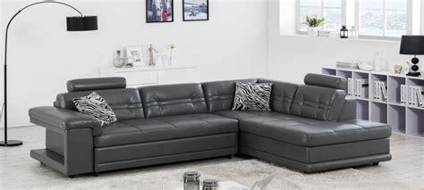 canapé d angle cuir gris canapé d 39 angle en cuir blanc à prix canon