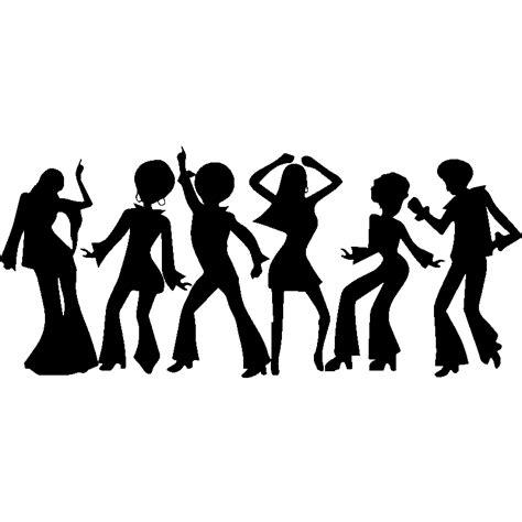 la cuisine italienne recettes sticker silhouettes danseurs disco stickers musique