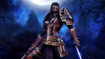 Samurai Female Warrior Wallpapers Fantasy Anime Woman