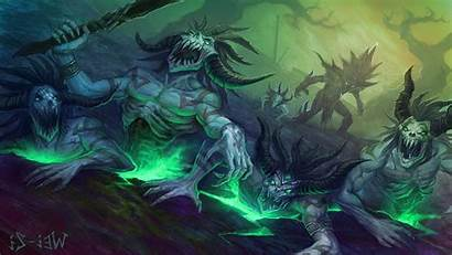 Fantasy Rpg Dungeon Dark Abstract Fighting Wallpapers