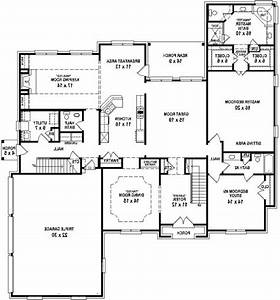 Simple 4 Bedroom Ranch House Plans | Fresh Bedrooms Decor ...