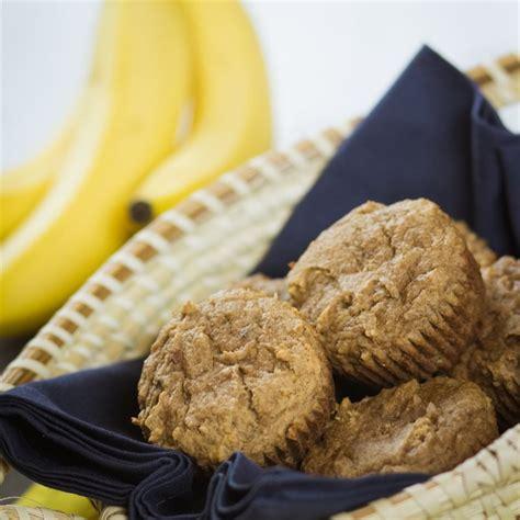 Coconut Flour Banana Bread Muffins