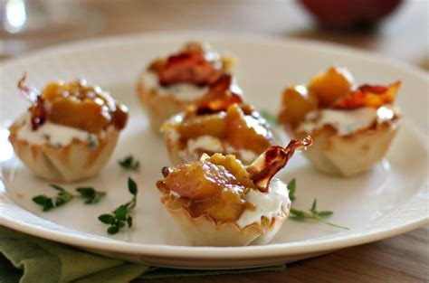 canape recipes drunken and goat cheese bites with crispy prosciutto
