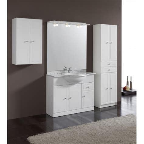 armoire vitree salle de bain armoire salle de bain blanc
