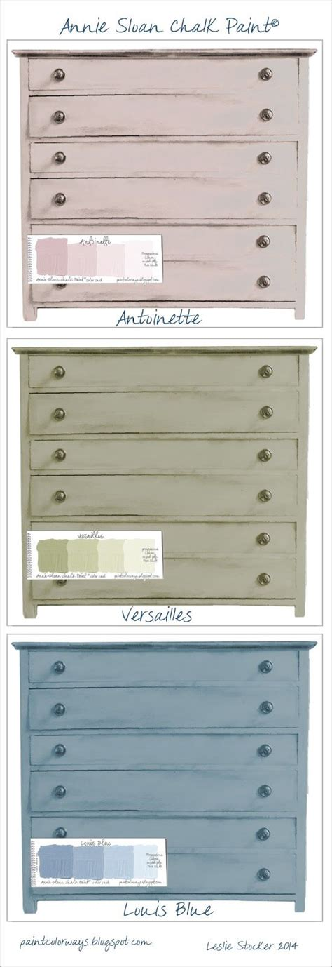 colorways color choices for chest of drawers sloan chalk paint 174 antoinette versailles