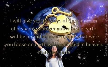 Christian Matthew Backgrounds Kingdom Heaven Verse Quote