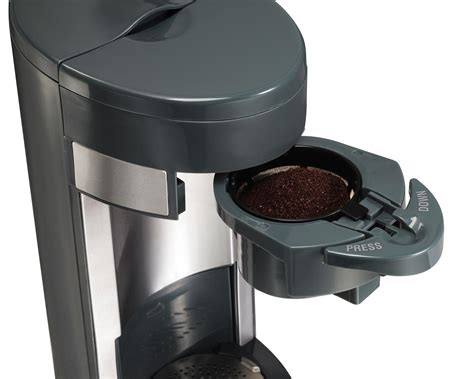 Hamilton Beach Coffee Maker, Flex Brew Single Delonghi Burr Coffee Grinder Kg89 Krups Baratza Encore Conical Video Review Iced Moka Pot Mr Tea Maker Problems Bodum Bistro Electric How To Use With Integrated Scale