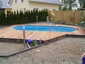 garten pool selber bauen eine verbluffende idee With französischer balkon mit pool für kleinen garten