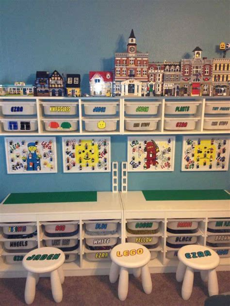 astuce rangement chambre fille lego storage ideas the lego organisation guide