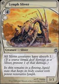 white slivers casual mtg deck