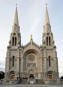 The Basilica of Sainte-Anne-de-Beaupré is a basilica set ...