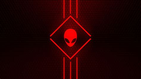 Alienware Wallpaper Red 2 by NeverHagS on DeviantArt