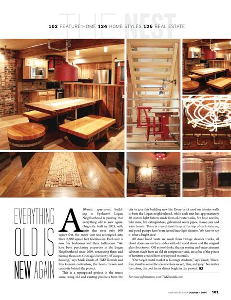 Spokane Coeur d'Alene Living magazine Issue #108 by