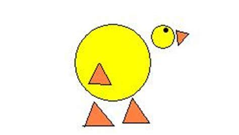 Creando animales con figuras geométricas