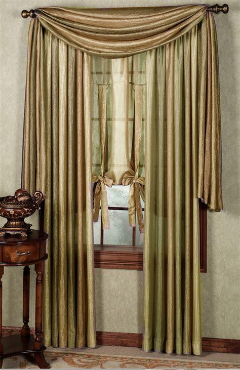 semi sheer curtains ombre semi sheer panels earth achim contemporary
