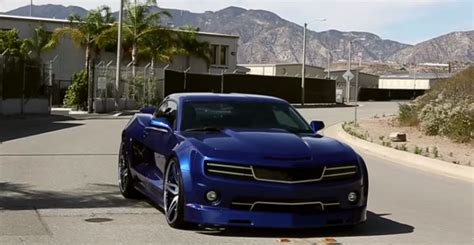 Insane Widebody Chevrolet Camaro Custom  Hot Cars
