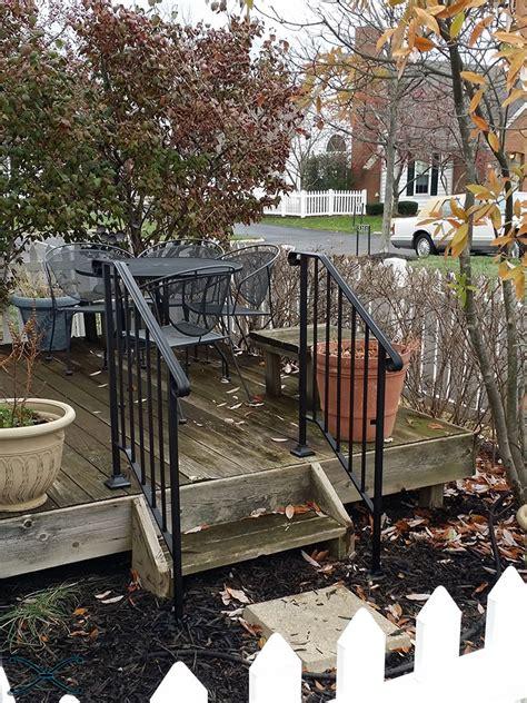 picket handrail diy kit stair handrails risers spans