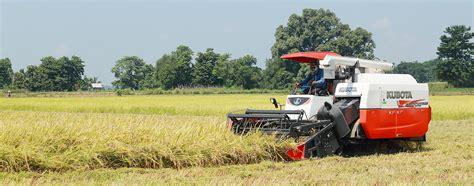 combine harvester products kubota myanmar