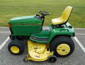John Deere 425  445  455 Lawn  U0026 Garden Tractors Service