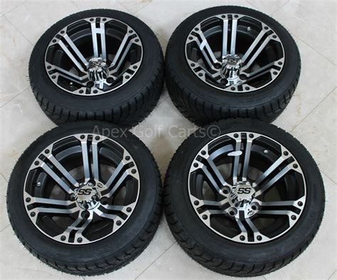 New 4 Tires And Itp Rims For Golf Carts Club Car Yamaha