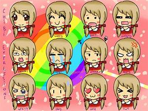 Pics For > Chibi Eyes Expressions