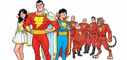 Shazam Superhero Powers Marvels Comics Dc Meet