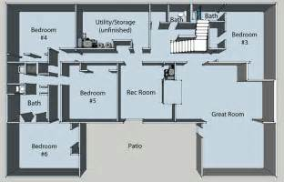 basement floor plan basement floor plans pros and cons of choosing a home plan with a basement your home