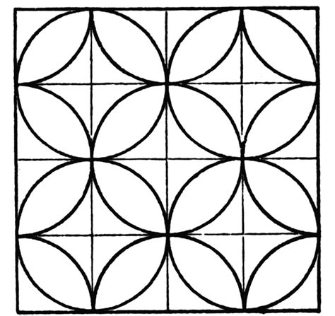 Tessellating Shapes Colouring Pages