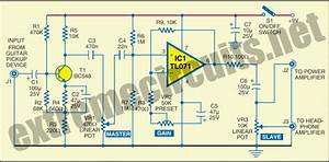 Wiring Diagram For Car  Electric Guitar Preamplifier