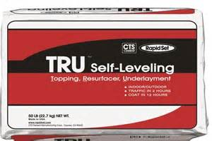 rapid set tru self leveling floor topping resurfacing