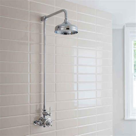 Shower The - crosswater belgravia exposed thermostatic shower valve