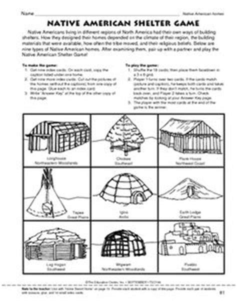 Native American Regions Worksheet  Google Search  Native American Regionshousing Eday