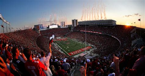 ohio state football valued   billion  stir  twitter land grant holy land