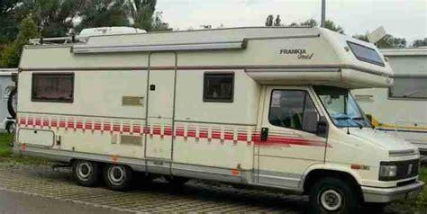 fiat ducato wohnmobil gebraucht wohnmobil frankia fiat ducato turbo diesel 1 9 wohnwagen wohnmobile