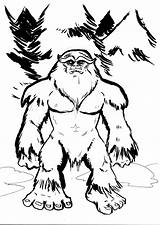 Bigfoot Sasquatch Drawing Cartoon Yeti Draw Coloring Finding Drawings Foot Feet Cryptozoology Myths Yowie Pages Timberline Mothman Getdrawings Cool Visit sketch template
