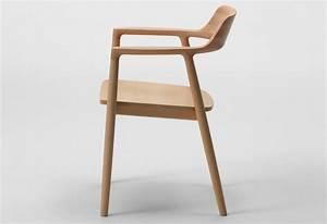 Hiroshima armchair wood designed by Naoto Fukasawa