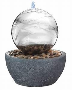 Boule Decorative Extérieure : une fontaine lumineuse et apaisante ~ Teatrodelosmanantiales.com Idées de Décoration