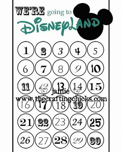 Disneyland Countdown Template Crafting Chicks Thecraftingchicks Printables