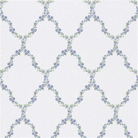tapete küche landhaus tapete landhaus blumen blau gr 252 n rasch textil tapeten fleur 3 285368