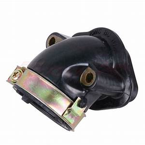 24mm Carburetor   Intake Manifold For Gy6 150cc Scooter