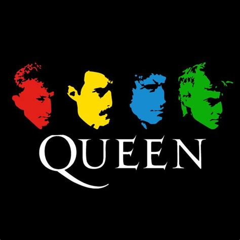 Queen Band Faces – CENTRAL T-SHIRTS