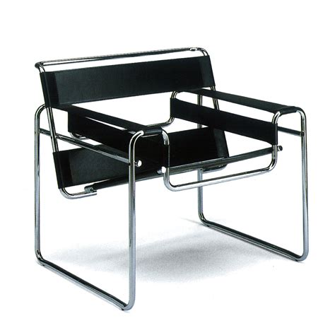 Breuer Chair Leather Wassily Chair By Knoll In The Shop