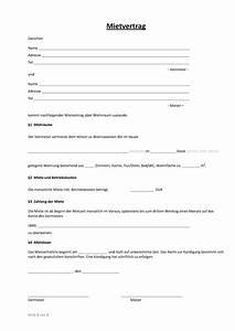 Kündigungsfrist Wohnung Beispiel : einfacher mietvertrag wo wohnung steuern vertrag ~ Frokenaadalensverden.com Haus und Dekorationen